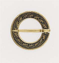 Anular brooch, 13cent. or early 14th century, France