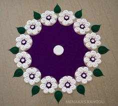 50 Mesha Sankranti Rangoli Design (ideas) that you can make yourself or get it made during any occasion on the living room or courtyard floors. Rangoli Simple, Indian Rangoli Designs, Simple Rangoli Designs Images, Rangoli Designs Flower, Colorful Rangoli Designs, Small Rangoli, Rangoli Ideas, Flower Rangoli, Beautiful Rangoli Designs