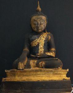 Burmese Bronze Arakan Buddha Statue 17th - 18th Century