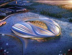 Zaha Hadid's 2022 Qatar World Cup Stadium Unveiled