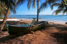 Puerto Viejo, Costa Rica is a lovely caribbean town.   Un pueblo en el caribe de Costa Rica hermoso!