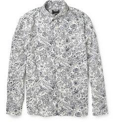 Todd Snyder Printed Cotton-Poplin Shirt | MR PORTER