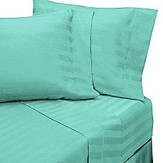Wamsutta® 500 Damask Stripe Sheet Set