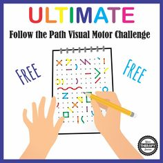 Ultimate Visual Motor Challenge from Your Therapy Source. Pinned by SOS Inc Resources at www.pinterest.com/sostherapy/
