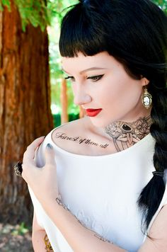 For the fairest of them all. | 16 Disney-Inspired Temporary Tattoos That Every Fan Will Love