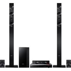 Samsung Blu-Ray Home Theater System Channel home theater with Blu-ray Disc playback Access streaming content and the web with built-in Wi-Fi and Smart Hub Features a vacuum tube amp and wireless rear speakers Samsung Home Theater System, At Home Movie Theater, Theatre, Rear Speakers, Channel, Black Friday Specials, Electronic Deals, Wireless Security, Video Home