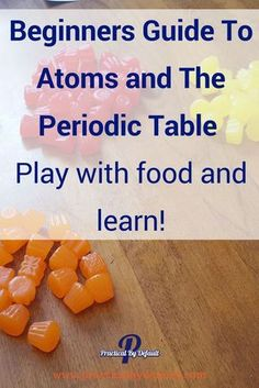 Instead of running away from chemistry and atoms, grab this guide and have fun!