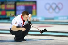 Greg Drummond of Great Britain looks on during the men's semifinal match between Sweden and Great Britain (c) Getty Images