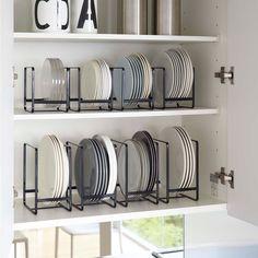 Kitchen Organization For Small Spaces, Kitchen Organization Pantry, Home Organisation, Diy Kitchen Storage, Home Decor Kitchen, Kitchen Interior, Home Kitchens, Space Kitchen, Spice Organization