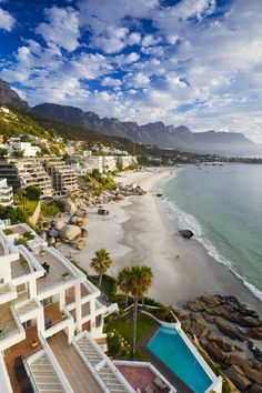 The luxe beach houses at Clifton Beach, South Africa might try to overshadow this coastline, but the beach itself is still the most beautiful part of this Cape Town suburb.