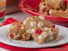 White Chocolate Cherry Bars | mrfood.com