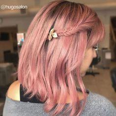 Braided Bang With Bob Haircut ❤ #lovehairstyles #hair #hairstyles #haircuts