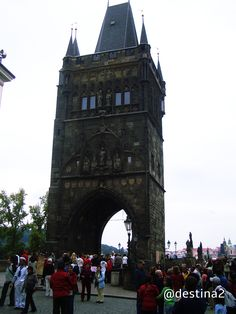 Praga.- Torre del Puente de Carlos