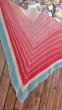 Ravelry: Project Gallery for Stripe Study Shawl pattern by Veera Välimäki