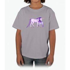 Purple Unicorns Young T-Shirt