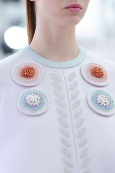 123 details photos of Delpozo at New York Fashion Week Spring 2015.