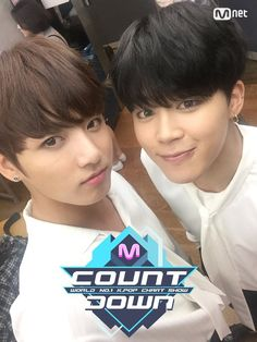 Jungkook and Jimin❤ MCOUNTDOWN Jikook Selfie, Ep.473 Line up|World No.1 KPOP Chart Show. #BTS #방탄소년단