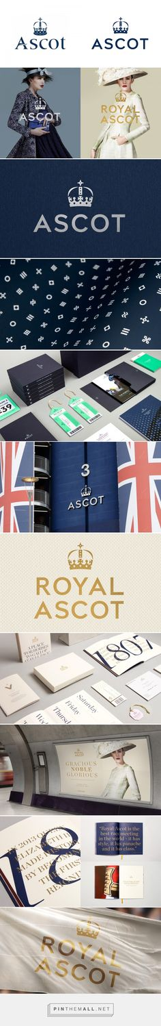 Brand New: New Logo and Identity for Ascot by The Clearing - created via https://pinthemall.net