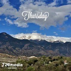 """Today's view ❤️ #AmericasMountain #ColoradoSprings #PikesPeak #Mountains #Colorado #Nature photo by @720media"""