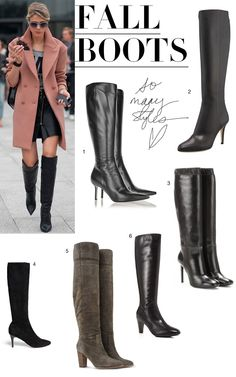 6 Stylish Fall Boots via Made By Girl