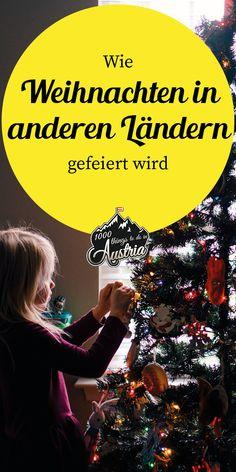 Andere Länder, andere Sitten. So feiern andere Länder Weihnachten. Christmas, Xmas Lights, Day Care, Random Stuff, Voyage, Xmas, Navidad, Noel, Natal