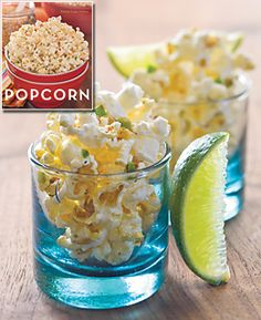 Chili Lime Tequila Popcorn and 4 other flavors