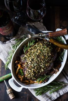 Prime Rib Recipe ~ Standing prime rib beef roast, cooked to perfection ...