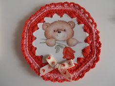 BABY BEAR IN A BROOCHE Teddy Bear, Christmas Ornaments, Toys, Holiday Decor, Baby, Animals, Home Decor, Head Bands, Activity Toys