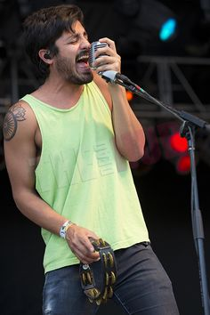 Sameer Gadhia of Young the Giant. Love at first sound. Young The Giant, Music Love, Simple Living, Biceps, First Love, Celebrity, Artist, Mens Tops, Fashion