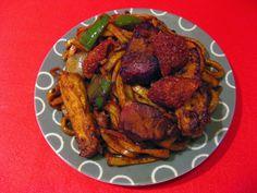 Roast Pork Shanghai Noodles (燒肉上海麵, Sui1 Juk6 Soeng6 Hoi2 Min6)