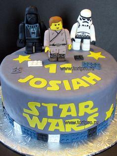 """Детский торт Лего """"Звездные войны"""" 70609"""