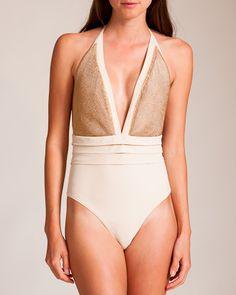 Christies Swimwear: Baleari Halter Swimsuit
