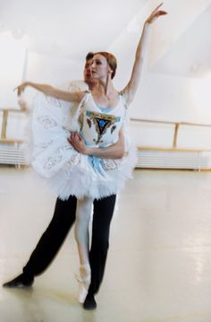 Svetlana Zakharova in rehearsal for Le Corsaire | Photo by Michael James O'Brien