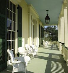 Bocage Plantation in Darrow, LA Southern Comfort, Southern Charm, Greek Revival Architecture, Louisiana Plantations, Porch And Balcony, Deck Builders, New Orleans Louisiana, Plantation Homes, Bed And Breakfast