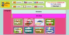 Dictados online. Ordenar las palabras de una frase. Para 2º http://childtopia.com/index.php?module=home&func=educativos&de=lengua&cat=dictado