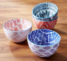 Make your morning cereal a little more exciting with a pretty porcelain bowl. This one from West Elm is a particularly sweet pick.
