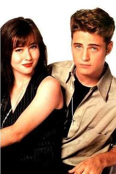 Beverly Hills 90210 Promo. When I was 12/13 I wished I had a twin brother so we would be a duo like Brenda and Brandon Walsh