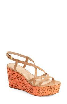 kate spade new york kate spade new york 'tatiana' wedge sandal (Women) available at #Nordstrom