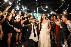 sparkler exit   charlotte nc wedding photographer