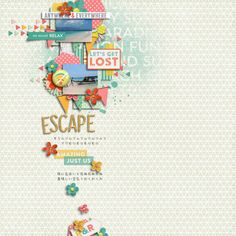 kit- Bermuda Triangle by P&Co Designers | template- Rule of Thumb by Little Green Frog Designs