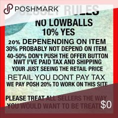 Closet Rules Iv went out shopping for you guys, Paid taxes, and Full prices for my items, Just to bring you guys lower prices for the same items :) Other