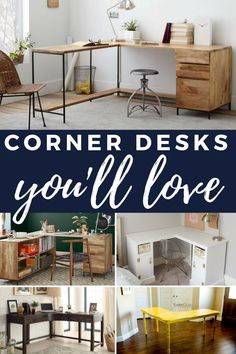 10 Corner Desks To Diy Or