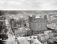 View of Minneapolis, Minnesota. 1900-1906