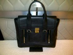 Ready: Phillip Lim Pashli  Color: black Size: Medium