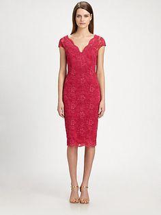 David Meister - Lace Dress - Saks.com