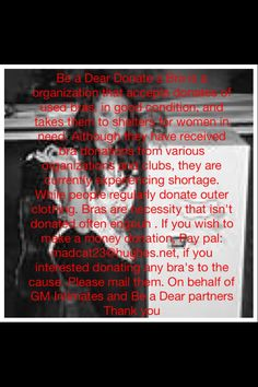 Be a dear and donate! Make A Donation, Need You, How To Make