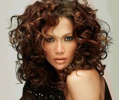 Sultry and wild curls!