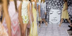 Pretty, girly shapes and even prettier pastels at Jasper Conran S/S 2014 | Fash Mob