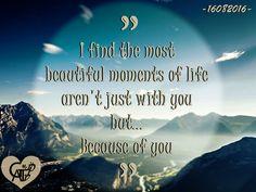 Because of you.. #TimeGATIPV #16082016 #HappySevenMonth #GAT #IPV