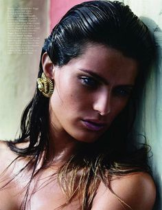 Beach Indulgence – Mario Sorrenti reunites with Isabeli Fontana for a perfectly sumptuous editorial in the October issue of Vogue Paris. Mario Sorrenti, Vogue Paris, Isabeli Fontana, Supermodels, Yves Saint Laurent, Beautiful Women, Hair Styles, Beauty, October